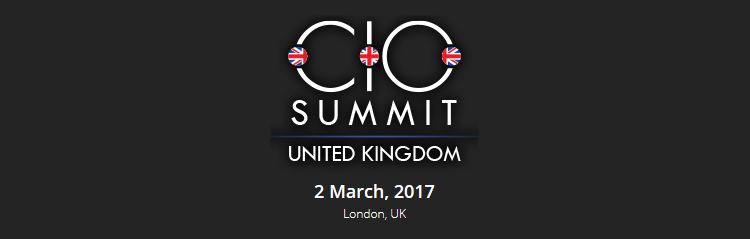 CIO UK Summit 2017
