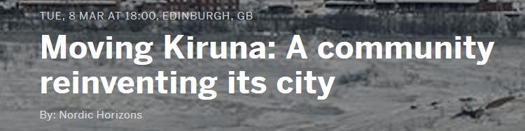 Moving Kiruna Seminar