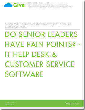 Do Senior Leaders Have Pain Points? - IT Help Desk & Customer Service Software