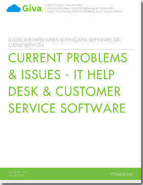 Current Problems & Issues - IT Help Desk & Customer Service Software
