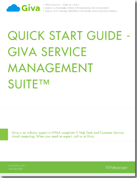 Giva Help Desk Quick Start Guide
