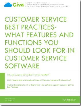Customer Service Best Practices - What Features and Functions You Should Look For in Customer Service Software