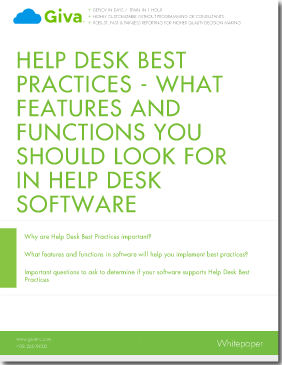 Help Desk Best Practices - ITIL & Help Desk Institute