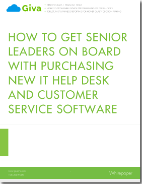 How to Get Senior Leaders on Board with Purchasing New IT Help Desk and Customer Service Software