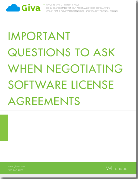 Important Questions to Ask When Negotiating Software License Agreements