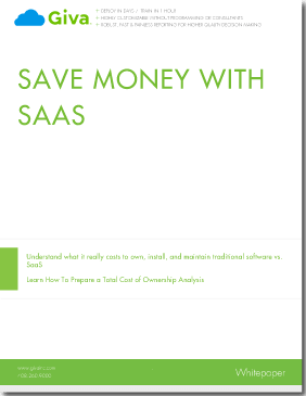 Save Money with Customer Service and Help Desk Software-as-a-Service (SaaS) - Outsourcing IT Infrastructure