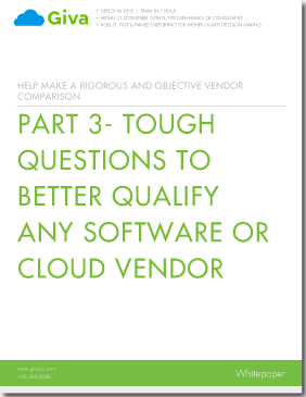 Ten More Tough Questions to Better Qualify Any Software or Cloud Vendor