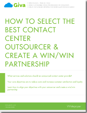 How to Select a Contact Center Outsourcer